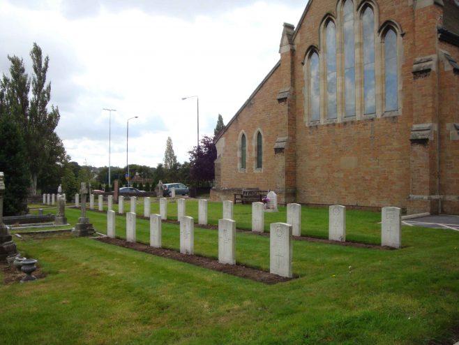 War Graves - original Churchyard