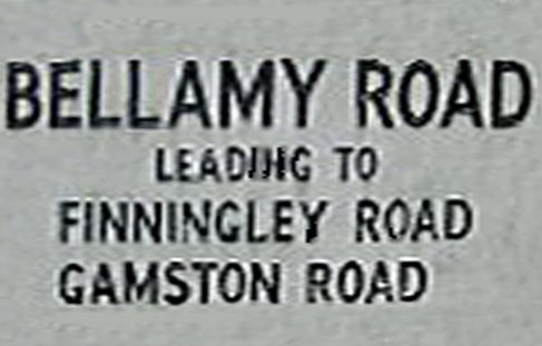 Bellamy Road