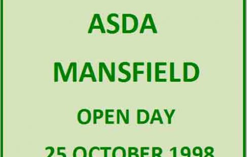 ASDA Open Day 25th October 1998