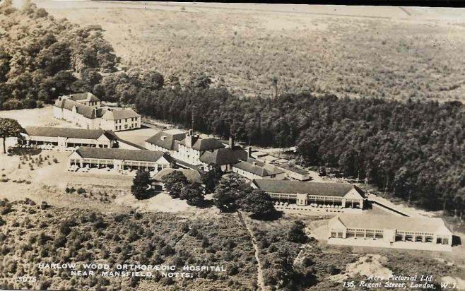 Early 1940s, Harlow Wood Orthopaedic Hospital