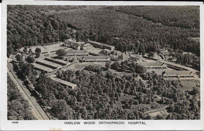 Unknown date, Harlow Wood Orthopaedic Hospital