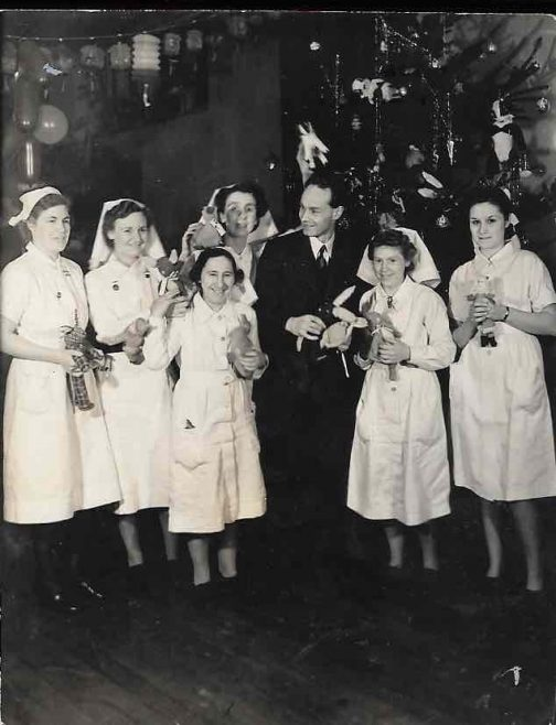 Christmas 1942, Harlow Wood Orthopaedic Hospital
