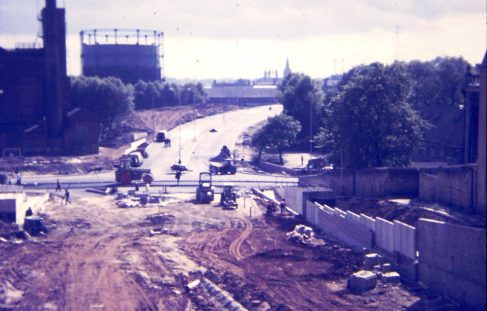 Mansfields New Ring Road under construction