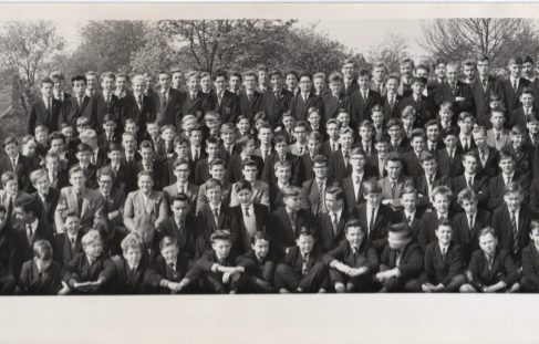 School Photo of QEGS for Boys Mansfield May 1963