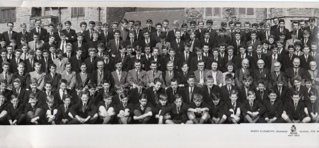 QEGS for Boys Mansfield May 1963 photo 2