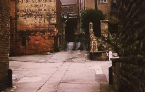 Entrance and Yard to Arthur Richardson & Son Ltd Wholesale Grocers.