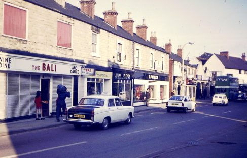 Clumber Street from the 60's/70's