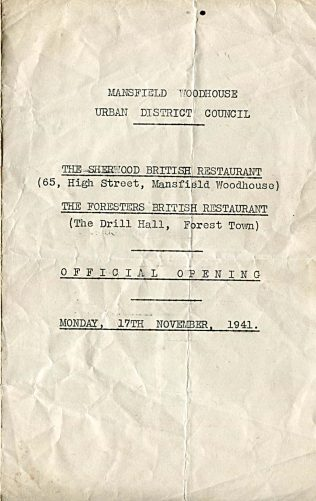 The British Restaurant - Does anyone remember these?