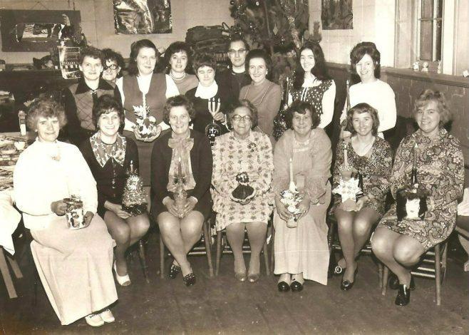 St Barnabus Church, Pleasley - Christmas 1974
