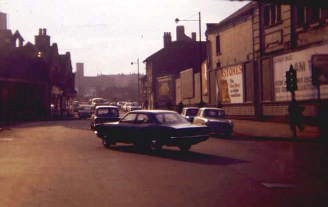 Junction of Stockwell Gate/Belevdere Street/Rosemary Street.