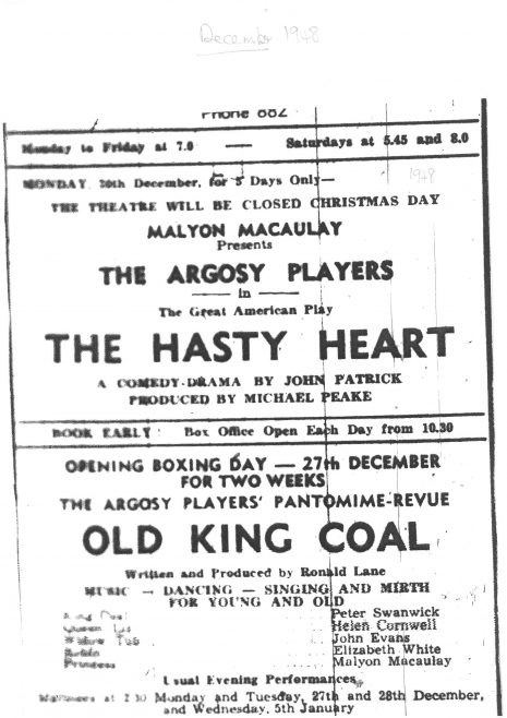 Argosy Players at the Palace Theatre