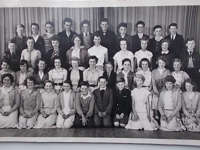 Rosemary Senior School in the Mid fifties