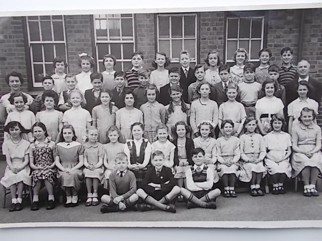 Broomhill Junior School in the early fifties