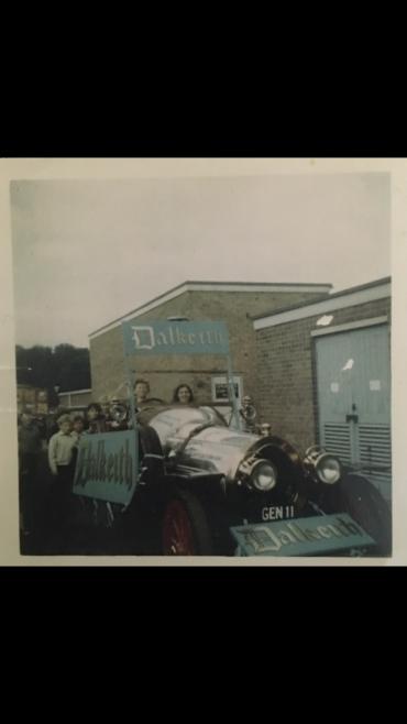 Chitty Chitty Bang Bang at harlow Wood hospital 1969.