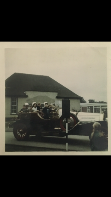 Chitty Chitty Bang Bang at Harlow Wood Hospital 1969