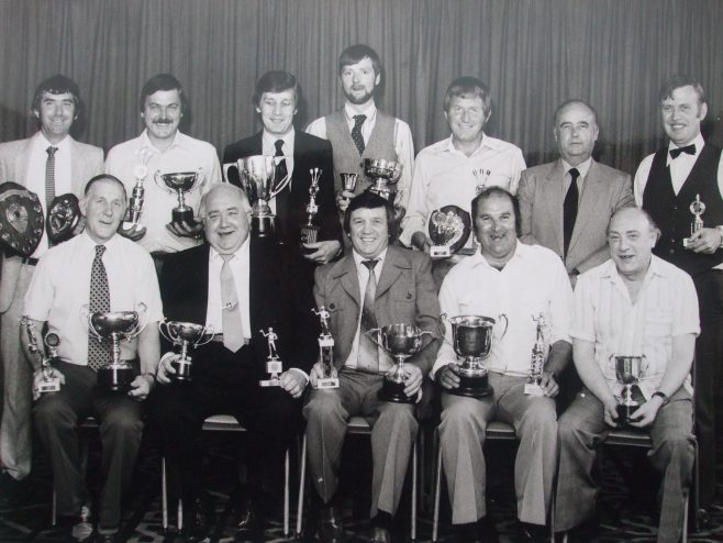 Mansfield and district works darts league presentation