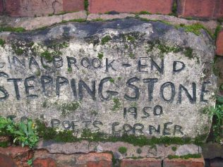 Lady brook stepping stone