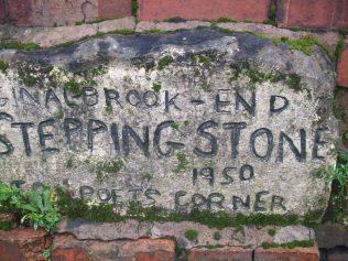Lady brook stepping stone