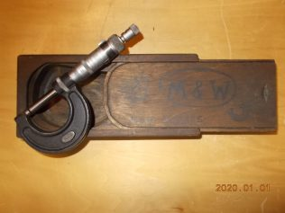 Fred coupe's micrometer