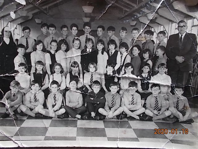 St. Philips School Class photo approx 1967