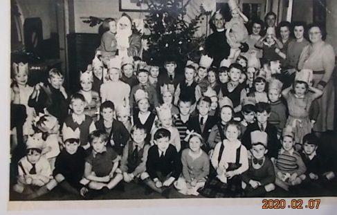 Glenys Marsh's School Days.