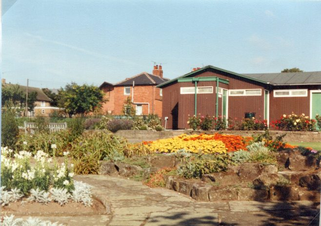 Pavilion and garden 1993