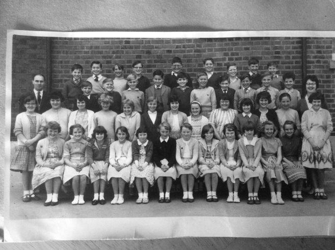 Moor Lane Junior School. Early 1960s