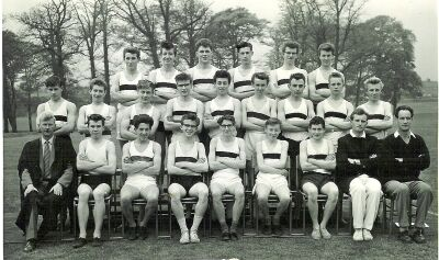 Cross country team 1962/3