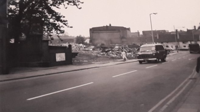 Stockwell Gate  redeveloping the town in the early 70's