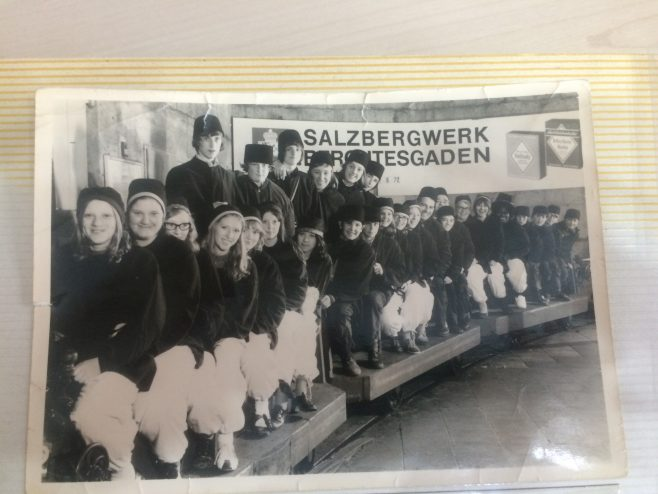 Cumberland's Secondary Modern School visit to the salt mines in Germany