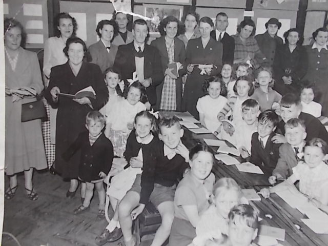 Broomhill school in the fifties