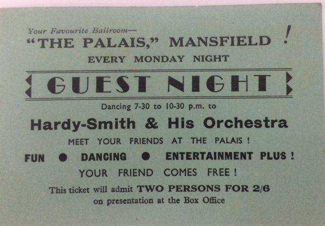 Guest night at the Palais