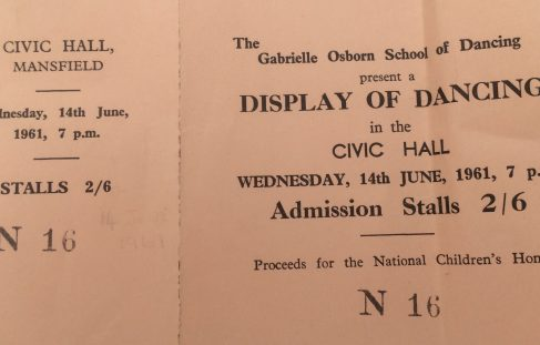 1961 Gabrielle Osborn School of Dancing - supporting charity