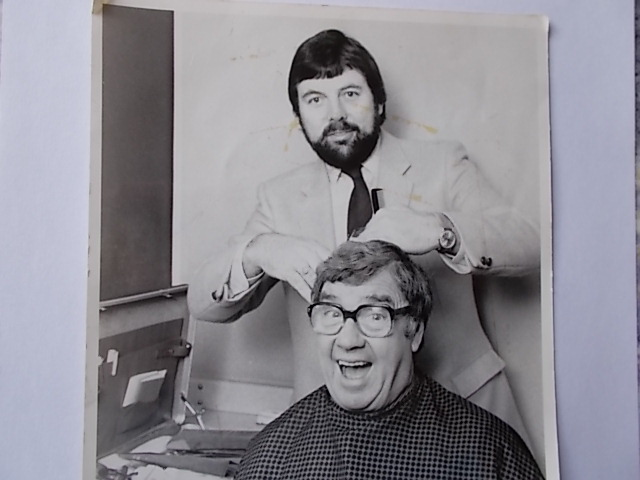 Roger Brown with Frank Carson