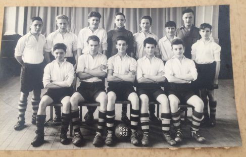 Mystery 1952-3 Football Team - School or Club????