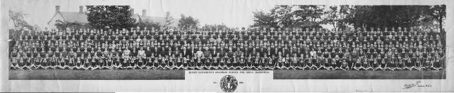 Mansfield Queen Elizabeth Grammar School for Girls in 1944