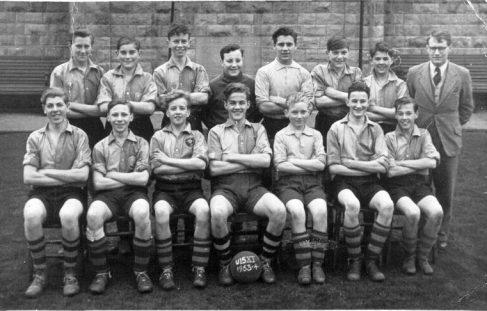 Brunts Grammar School Under 15s Football Team