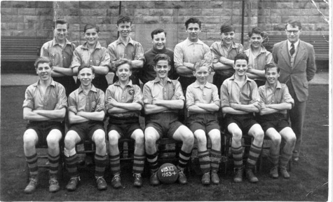 Brunts Grammar School Under 15s Football Team