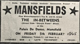 The Mansfields - a local 1960's band.