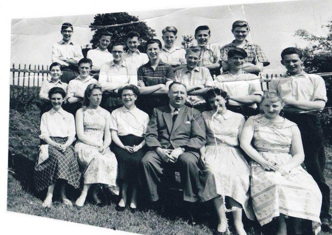York St. School class 4a 1959