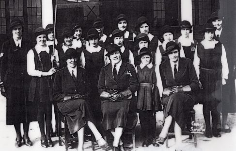 Photo of the Girls Brigade in 1934/5