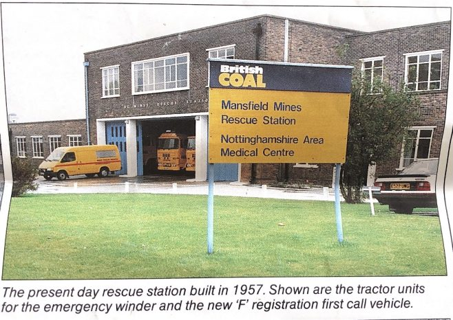 Mines Rescue Service on Leeming Lane South built in 1957