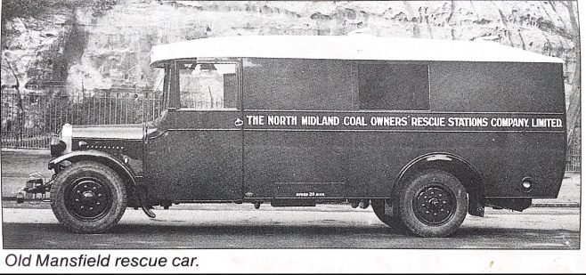 Old Mansfield rescue car