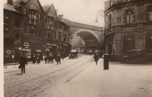 Market Street in Mansfield, possiby 1920s