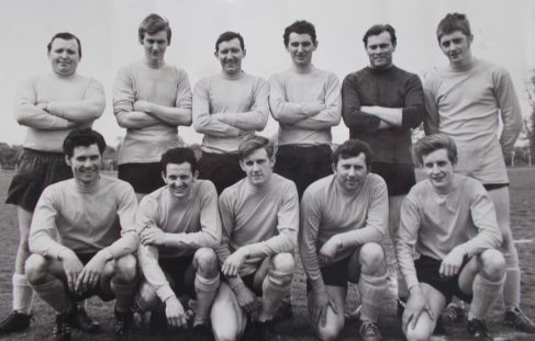Inter Office Match in late sixties