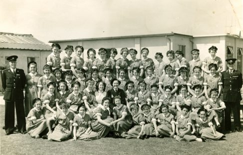 Mansfield Colliery Nursing Cadets 1957/8