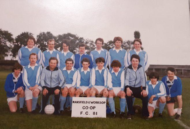 Football-  Mansfield Sunday League Football team