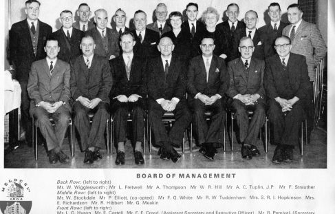 C0-0P Board of Management Circa 1963