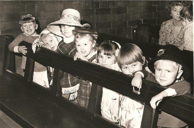 St Barnabas Church Pleasley approx 1971 | S Dutton