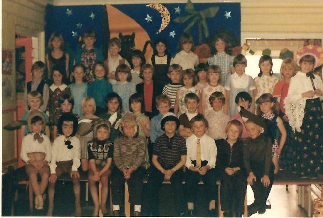 Carter Lane First School Mansfield approx 1975 | S Dutton